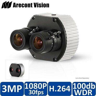 Arecont Vision 3 Megapixel Megavideo Dual Lens Surveillance Ip Camera Av3236dn