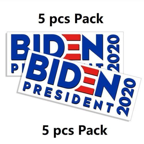 5pcs Joe Biden President 2020 Election Campaign Democratic Bumper Stickers Decal