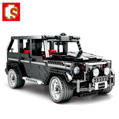 SEMBO-701960 Bausteine Kinder Technologie-Serie BANZ-G500 Auto Modell OVP 1343PC