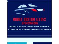 MOBILE ALLOY SPRAYING SERVICE. BRAKE CALIPERS. LONDON & SURROUNDING COUNTIES. HIGH QUALITYLOW PRICES