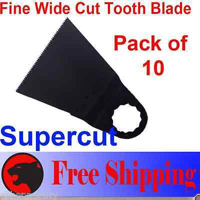 10 Wide Japenese Coarse Multitool Saw Blade For Fein Supercut Fsc Afsc 2.0