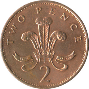 2 pence from the United kingdom.