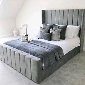 Premium Double King Upholstered Beds! Sleigh, Princess, Ottoman &more!