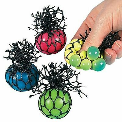 Color Changing Stress Ball (Mesh Squishy Ball Small Color Changing Kid Grape Toy Gift Anti Stress Pack of)