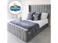 New Alpha frame bed with Mattress & FREE PILLOWS - The Mattress Store Kirkintilloch