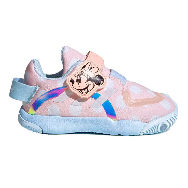 Adidas x Disney Active Play Minnie Mouse Infant Toddler Girls Sneaker Pink Shoe