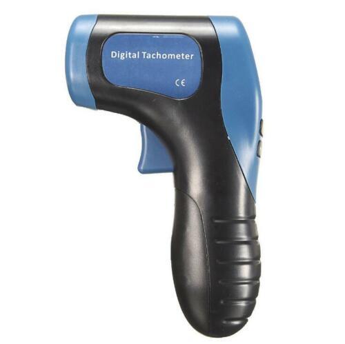 Non Contact Laser Photo Tachometer Gun Digital RPM Tach Tester Meter Speed Gauge