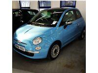 Fiat 500 1.2 Lounge blue - 3 door petrol hatchback