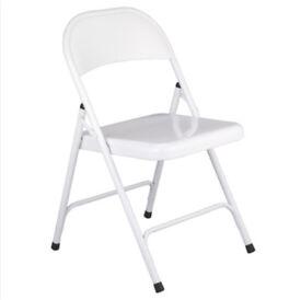 4 metal folding chairs HABITAT