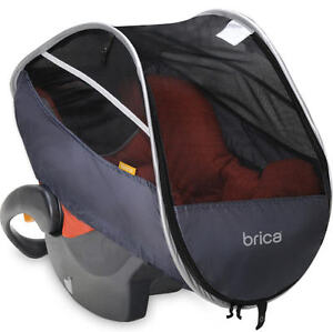Brica - Protège moustique coquille - Brica Car Seat mosquito net