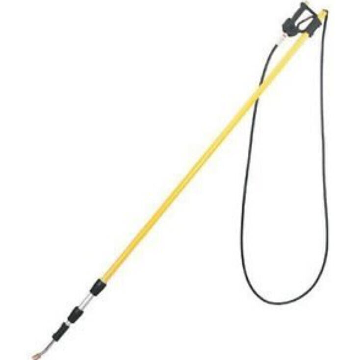 PRESSURE WASHER TELESCOPING WAND - Coml - 6 to 18 Ft - up to 4,000 PSI & 8 GPM