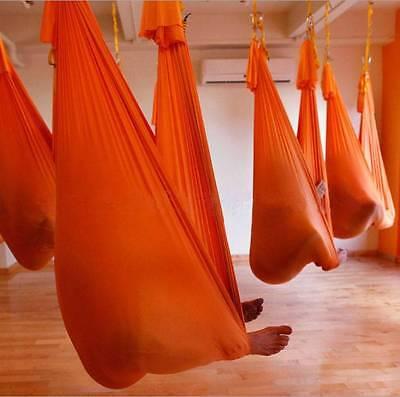 2000 Lb Elastic Flying Yoga Swing Hammock Aerial Inversion Strap