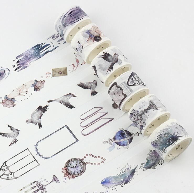 DIY Dreamland Decorative Washi Paper Tape Album scrapbooking Stickers 5M