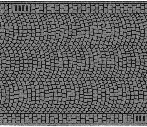Noch 48592 Tt Gauge, Cobblestones, 39 3/8x1 5/8in (1qm = 130,00 Euro)