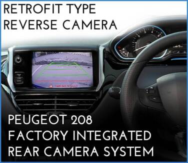 [Promo] Peugeot 208 2014~ onward Factory retrofit Reverse Camera Brunswick Moreland Area Preview