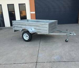 8x5 500mm High Side Box Trailer Underwood Logan Area Preview