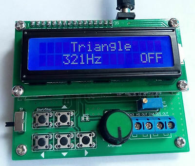 8 Mhz Avr Dds Function Signal Generator Pulse Sine Trianglesquare Wave Noise