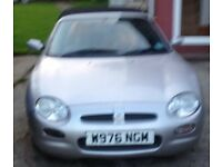 MG MGF for sale, 1.8 convertible,