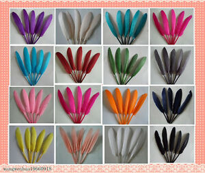 60pcs-goose-feather-4-6-inches-in-a-variety-of-colors