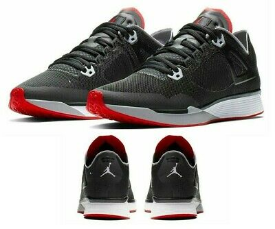 New AIR JORDAN Racer 89 Sneaker Mens black red white all sizes (All Red Jordans)