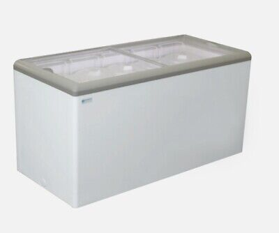 New 60 Sliding Flat Lid Cooler Freezer Nsf Excellence Hb-17hcd 9712 Ice Cream