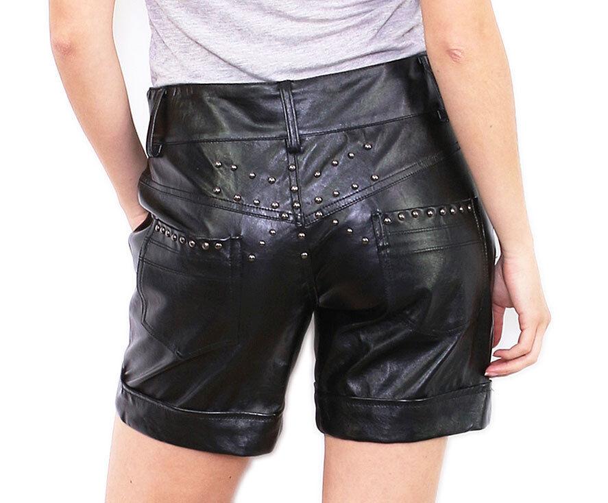 Kurze Hose Damen Leder Optik Test Vergleich +++ Kurze Hose