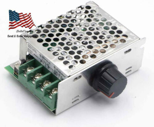 7-70V PWM DC Motor Speed Controller Switch 30A - Great For Power wheels Durable