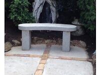 Large Marble/Granite Garden Seat