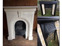 Original Victorian Fire place/surround