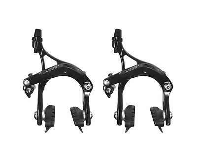 Shimano R451 dual pivot étriers de freins vélo de route 57mm Goutte-Argent