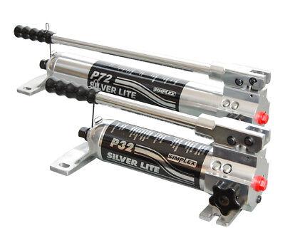 P71 Simplex 1 Speed Aluminum Hand Pump 10000 Psi Oil Capacity 70cu.in.