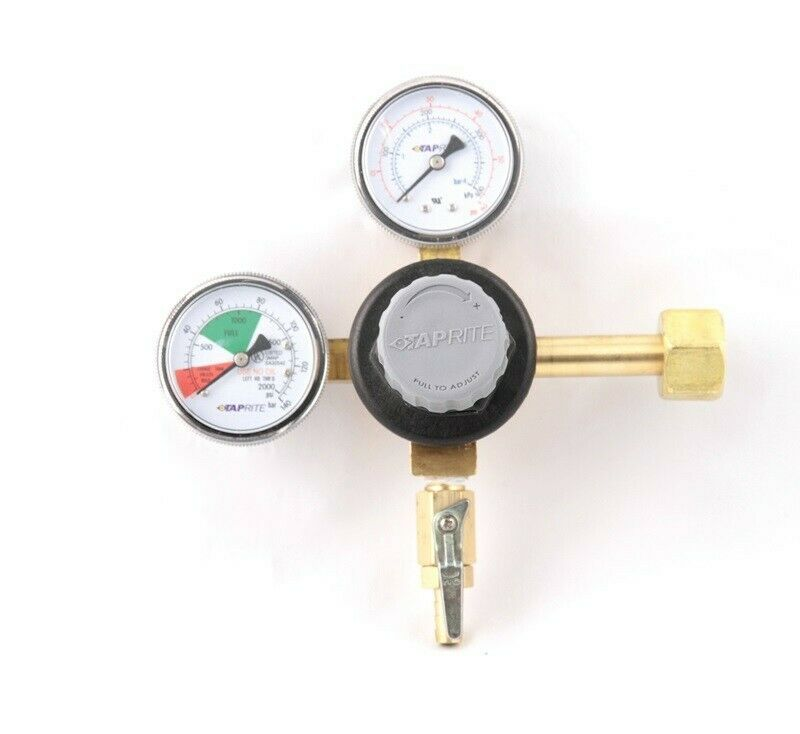 T742 Primary Beer Regulator,1 pressure, 1 product