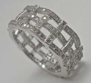 925 Woven Silver Ring