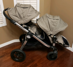 City select double stroller excellent condition