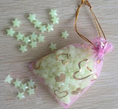 Glow Novelties Wholesale (200pcs 3D Glow In The Dark Stars Kids Baby Room Decoration Craft Decor)