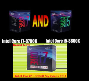 ★★★ Intel Core i7 - 8086K / 8700K / 8600K Kits ★★★