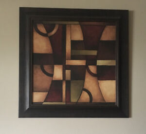 """Wall art / picture/ framed  65"""" x  65"""""""