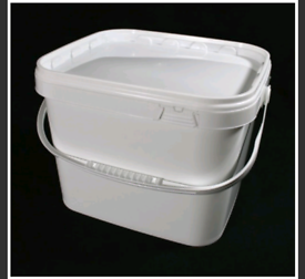 10.5l white storage buckets food catering 27 available