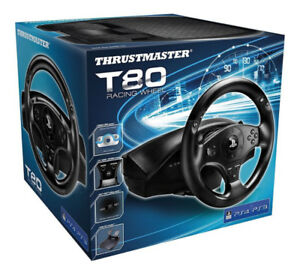 Thrustmaster T80 Racing Wheel PC, PS4 & PS3