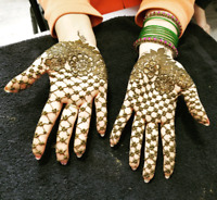 Organic Henna service for all events