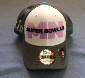 Superbowl LII Adjustable 9Forty Cap NWOT