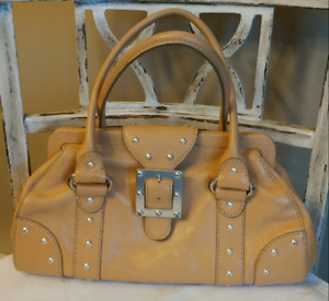 MICHAEL KORS Leather Studded Purse Serial No. OK.0973628