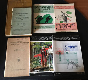 OFFERS? Vintage MILITARY Books Pamphlets Journals WW1 WW2 1950s