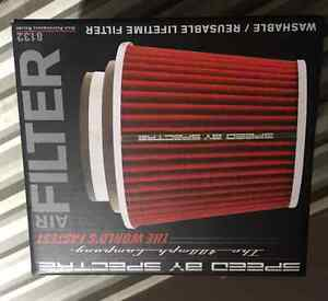 Spectre Performance 8132 Red/Chrome Cone Air Filter