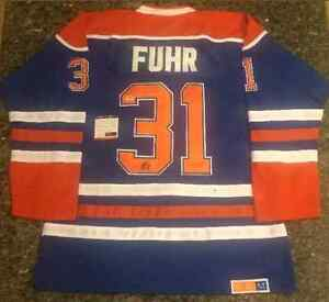 Grant Fuhr Signed Jersey