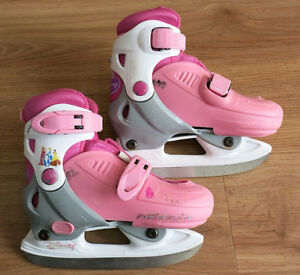 Girls Disney Adjustable Skates - Size J9 J10 J11 J12