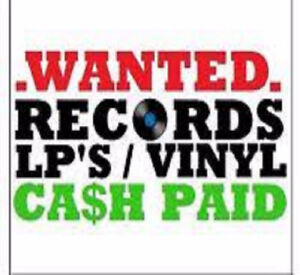 VINYL RECORDS WANTED. CD's WANTED