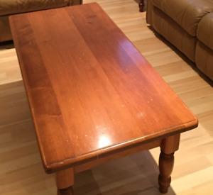 Table à café, table de coin, table d'appoint, table de salon
