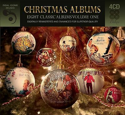 Eight (8) Classic Christmas Albums Vol. 1 VARIOUS ARTISTS Best Of MUSIC New 4 (Best Classical Christmas Albums)