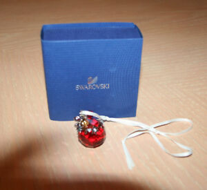 Swarovski Crystal Ball Ornament - In Box